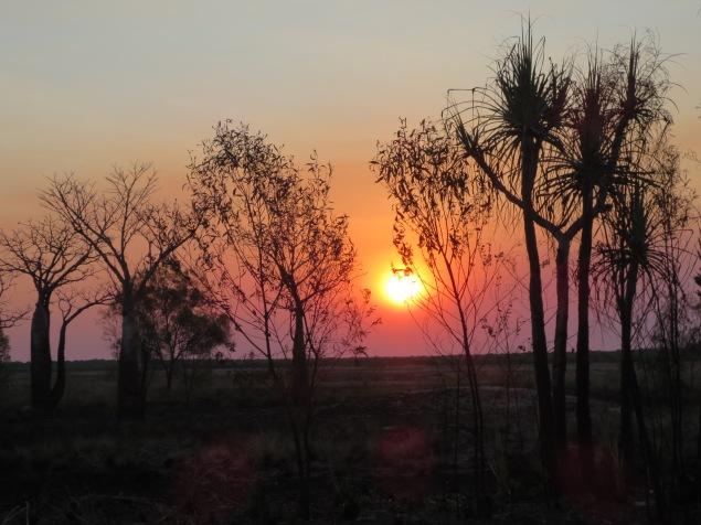 Up before sunrise ...